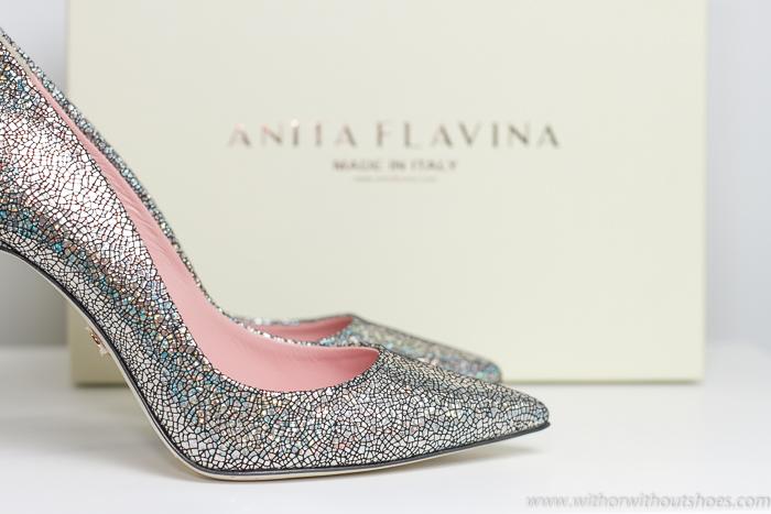mis Regalos de Reyes Zapatos de tacón alto color plata de Anita Flavina