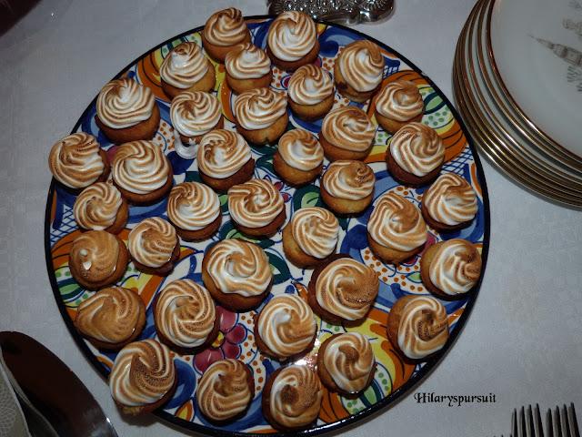 Cupcakes au citron vert meringué