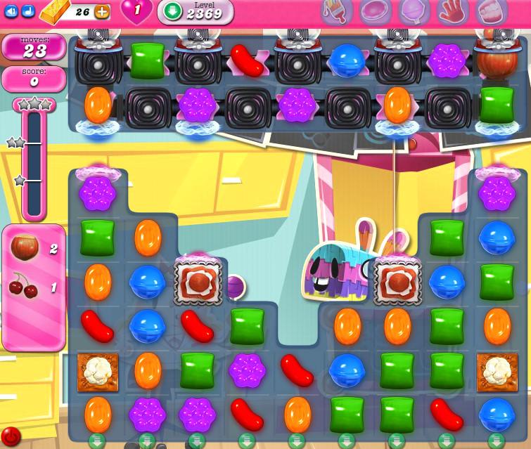 Candy Crush Saga level 2369