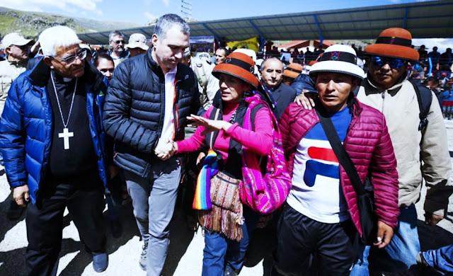 Salvador del Solar garantiza la presencia del Estado en Cotabambas