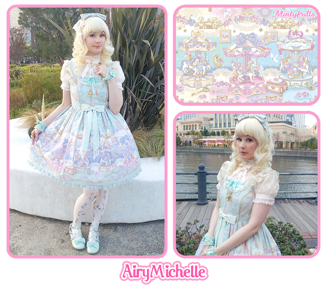 airymichelle, mintyfrills, angelic pretty, sweet lolita, eternal carnival,