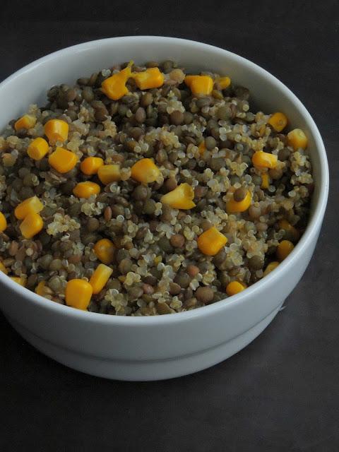 Vegan Quinoa & Lentils Salad