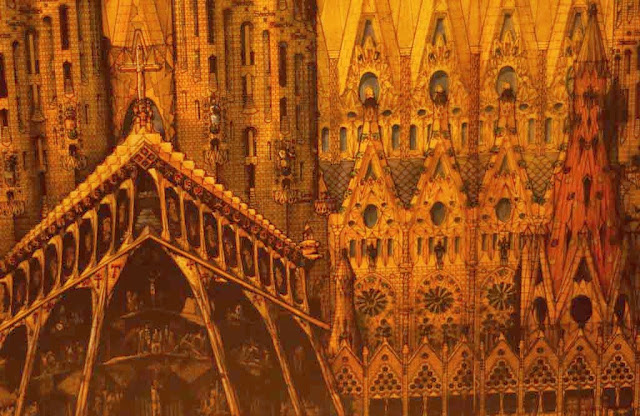 Bocetos de La Sagrada Familia