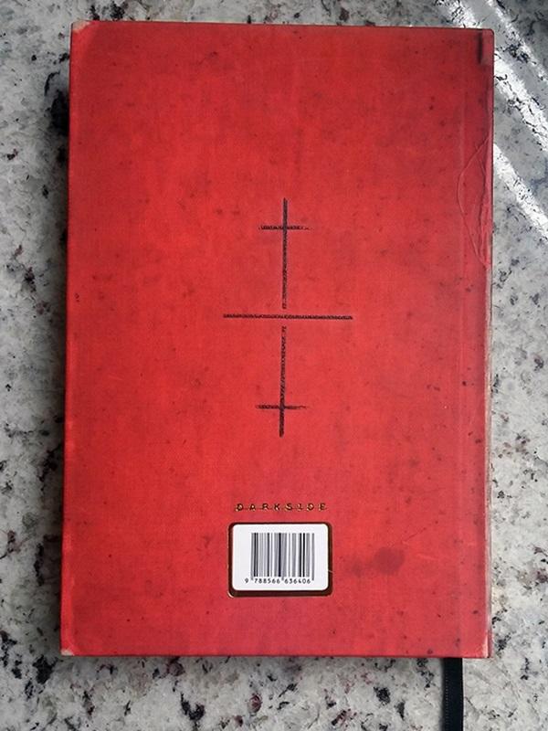 Contracapa de O demonologista - Andrew Pyper
