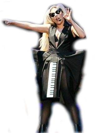 lady gaga transparent background free pack part 3 everything awesome entertainment. Black Bedroom Furniture Sets. Home Design Ideas