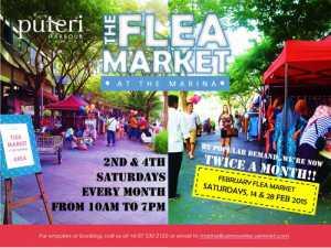 puteri harbour flea market