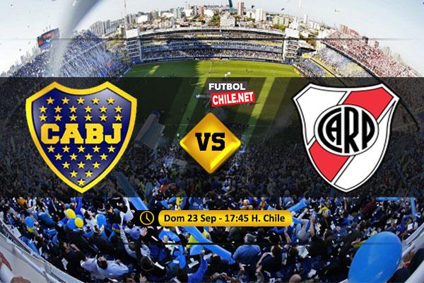 Mira Boca Juniors vs River Plate en vivo y online por la Superliga Argentina