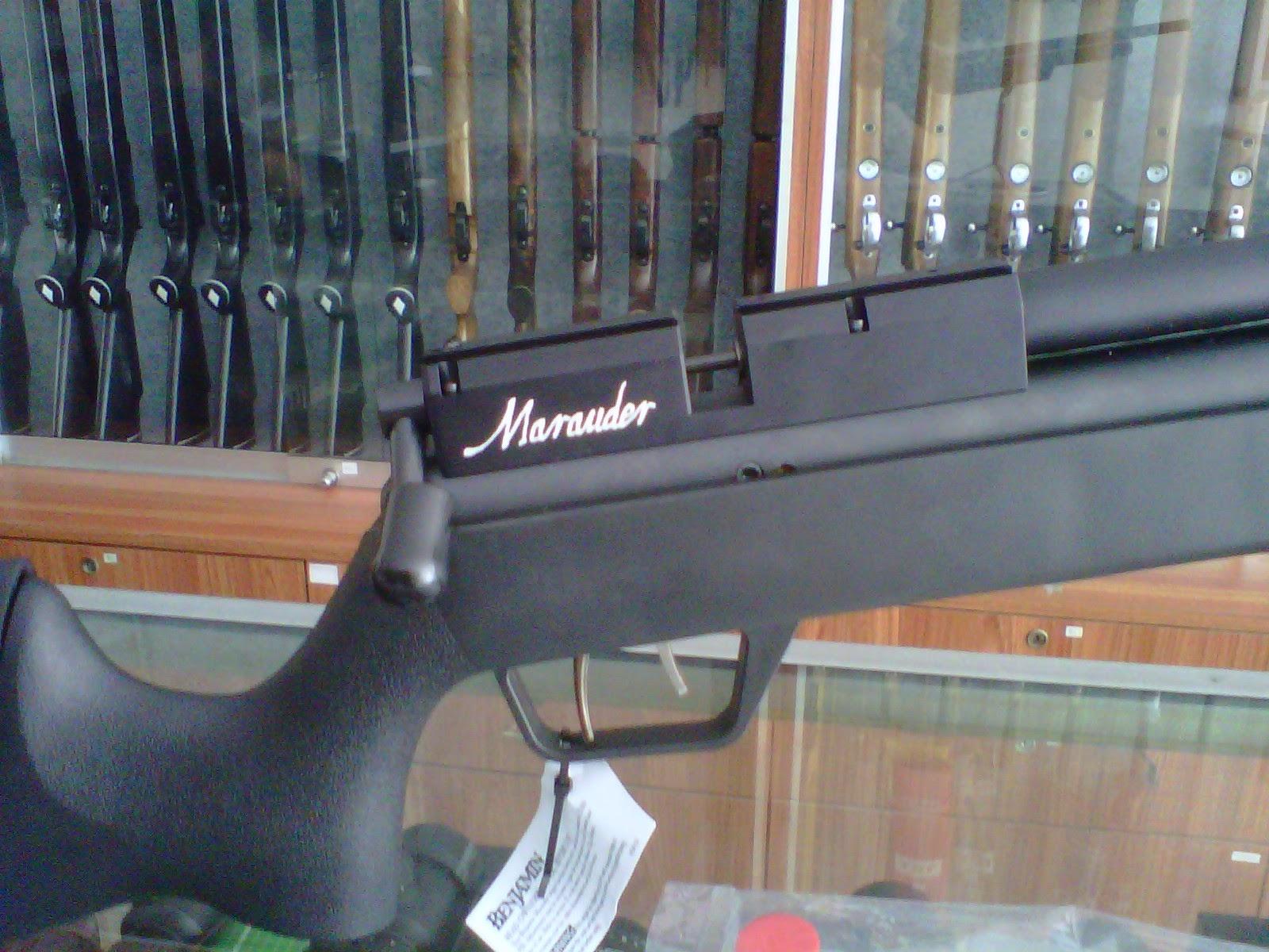 GUNS AND HOBBIES: SENAPAN PCP BENJAMIN MARAUDER ORIGINAL