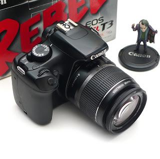 Kamera Canon EOS Rebel T3 Fullset