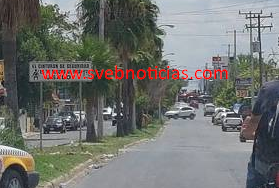 Balacera en Reynosa Tamaulipas deja dos policias heridos