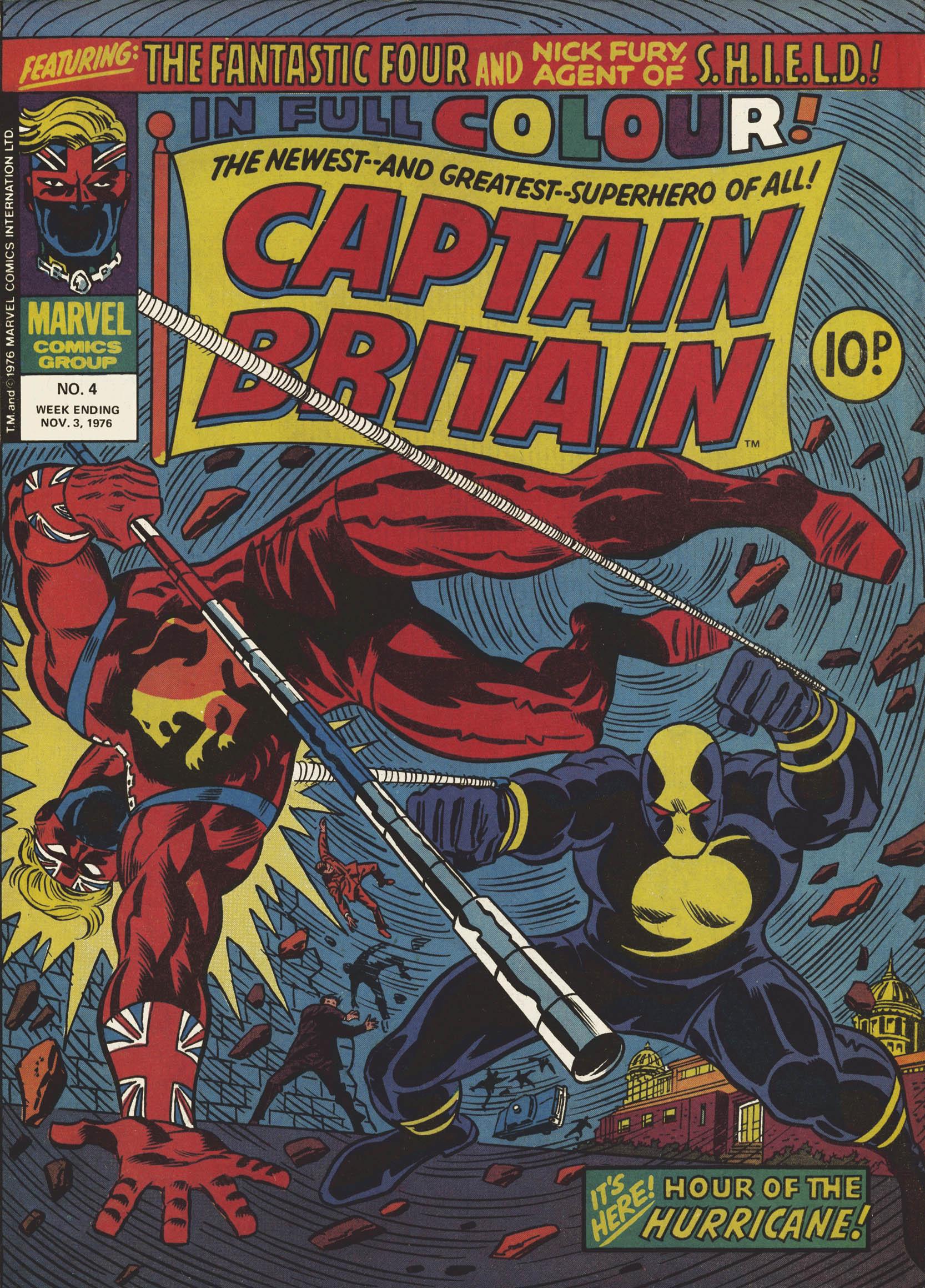 Captain Britain (1976) 4 Page 1