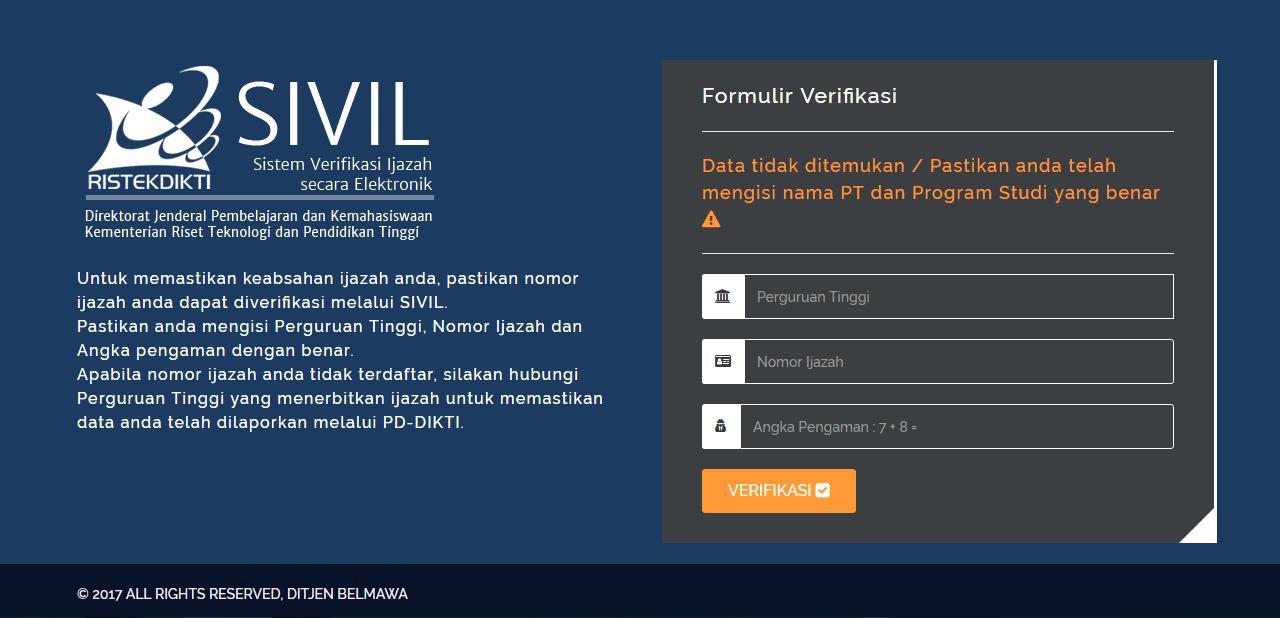 17+ Contoh surat balasan verifikasi ijazah terbaru yang baik