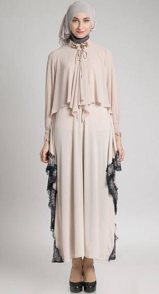 Contoh Model Baju Hamil Muslim Lebaran Terbaru 2015