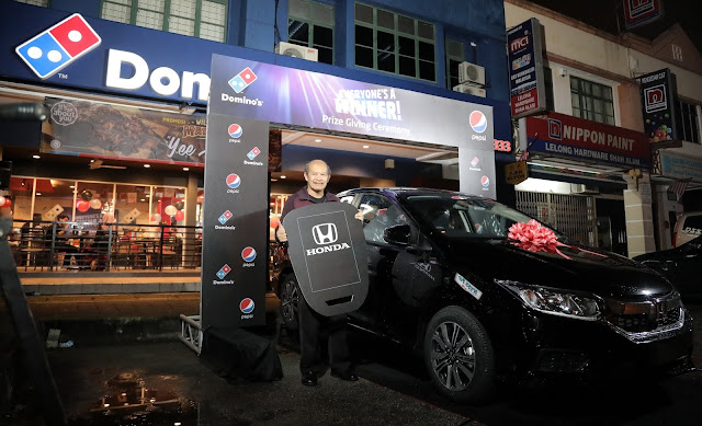 DOMINO'S PIZZA & PEPSI BLACK UNVEIL WINNERS OF THE EVERYONE'S A WINNER CONTEST