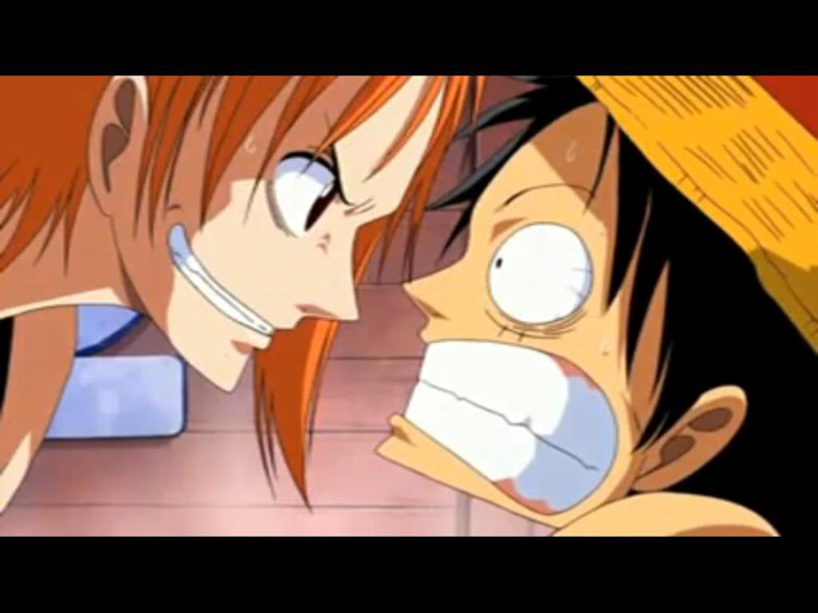 american top cartoons one piece luffy angry