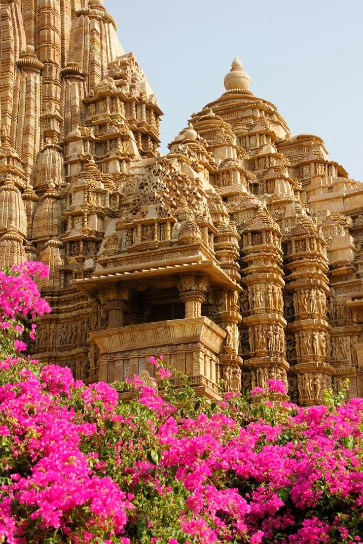 10 Best Backpacking Destinations in India | Monuments of Khajuraho, located in Madhya Pradesh, India