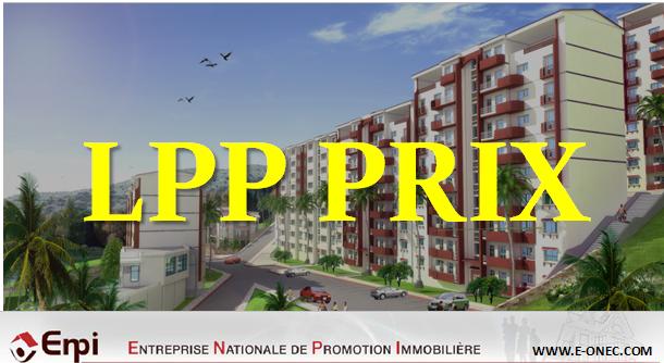 اسعار سكن LPP للجالية الجزائرية بالخارج