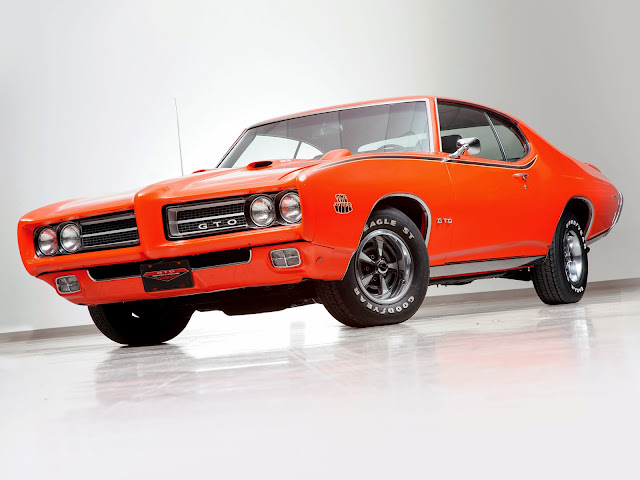 Pontiac GTO The Judge Ram Air III Hardtop Coupe