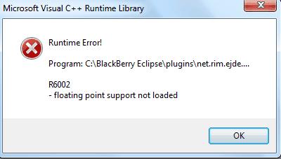 cara mengatasi runtime eror r6002