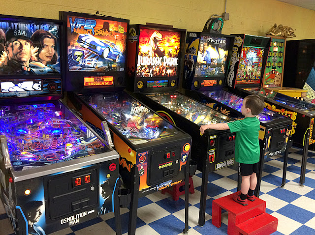 Pinball at Blue Sun Soda Shop