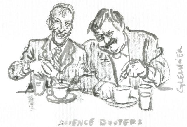 Prof. Heinz Oberhummer, Werner Gruber, Porträt, Künstler, memoriam