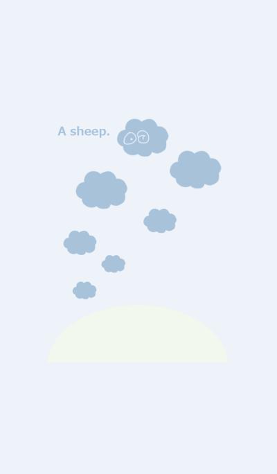A sheep 3.SKY