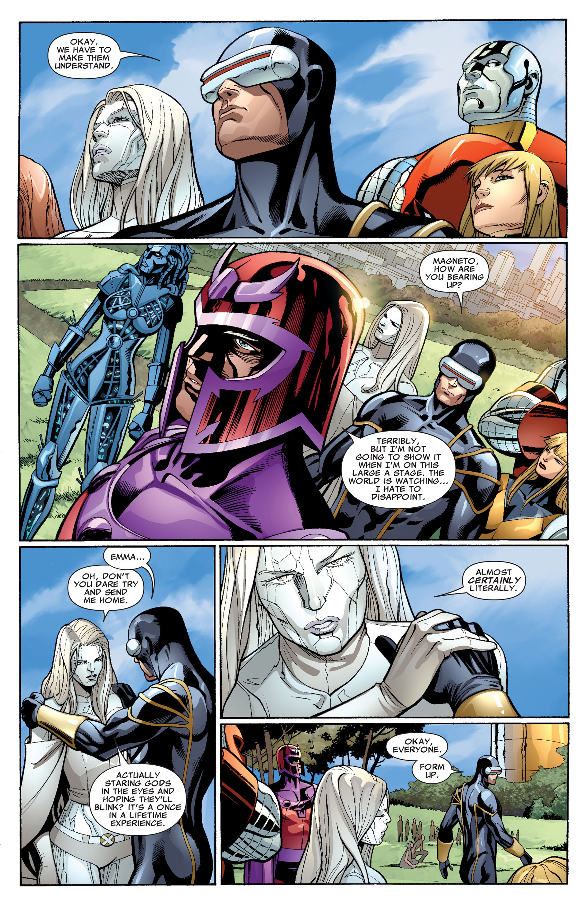 Read online Uncanny X-Men (2012) comic -  Issue #3 - 19