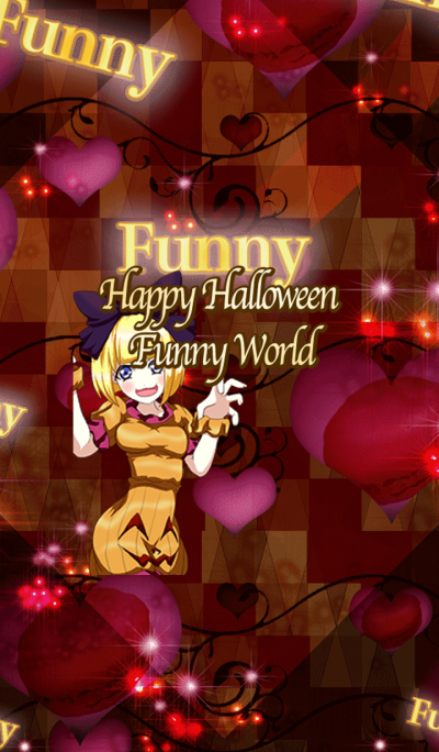 Lovely Halloween Funny World