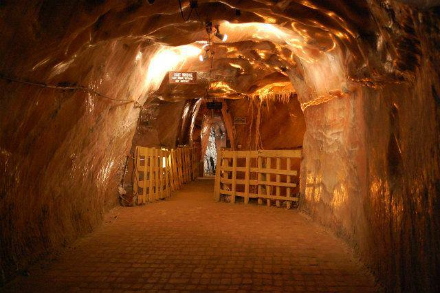 Inside Khewra Salt Mines, Pakistan