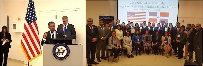 Cumbre encabezada por Espaillat aborda demografía, desarrollo social y perspectivas de dominicanos en Estados Unidos