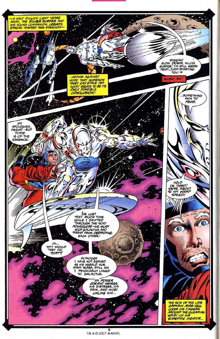 Silver Surfer (1987) Issue #109 #117 - English 8