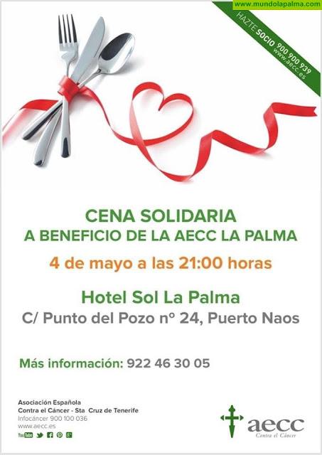 Cena Solidaria a beneficio de AECC La Palma