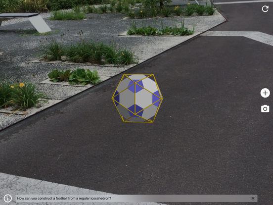 Icosaedro - Bola de futebol.