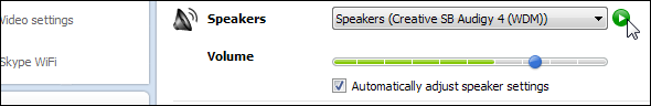 Skype Audio Setting step 3
