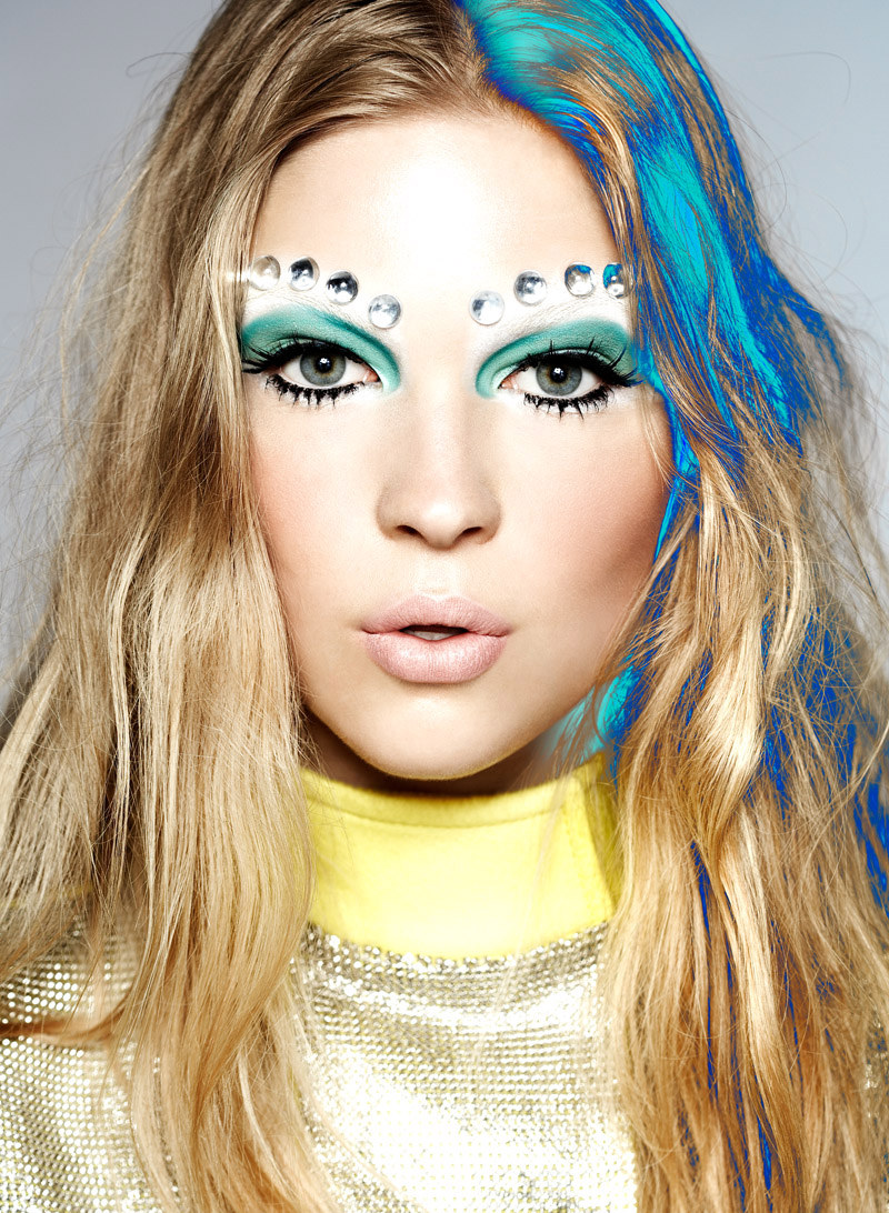 Fashion Makeup: Brittany Michѐle: Edgy Makeup Trends