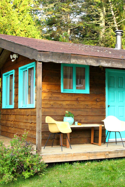 Small Cabin Porch