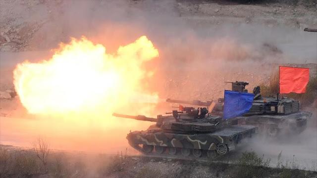 """Pyongyang llama a Seúl y Washington a no """"echar gasolina al fuego"""""""