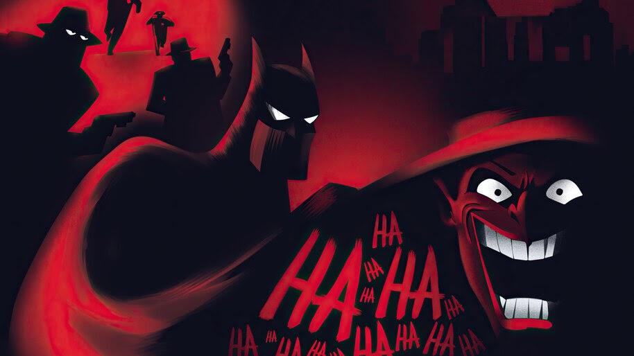 Batman, Joker, Animated, Series, 4K, #6.1957