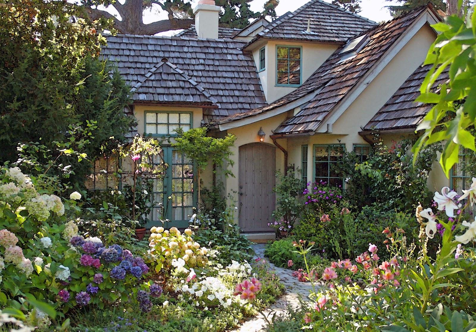 Cottage Gardens: The Singing Gardener: My Inspiration