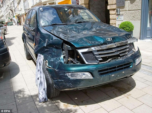 SHOCKING NEWS: crazy and reckless driver killed and injured dozens in the city of Graz