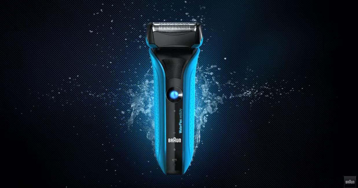 Canzone Pubblicità Rasoio Braun WaterFlex Wet & Dry con testina flessibile | Musica spot Agosto 2016