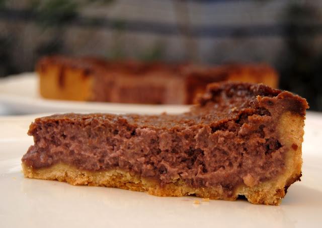 Tarta de Moras y Queso Mascarpone