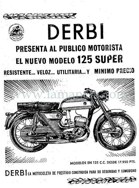 .: Derbi 125 super