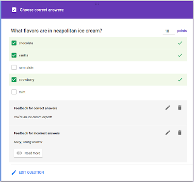 Create quizzes in Google Forms with Apps Script