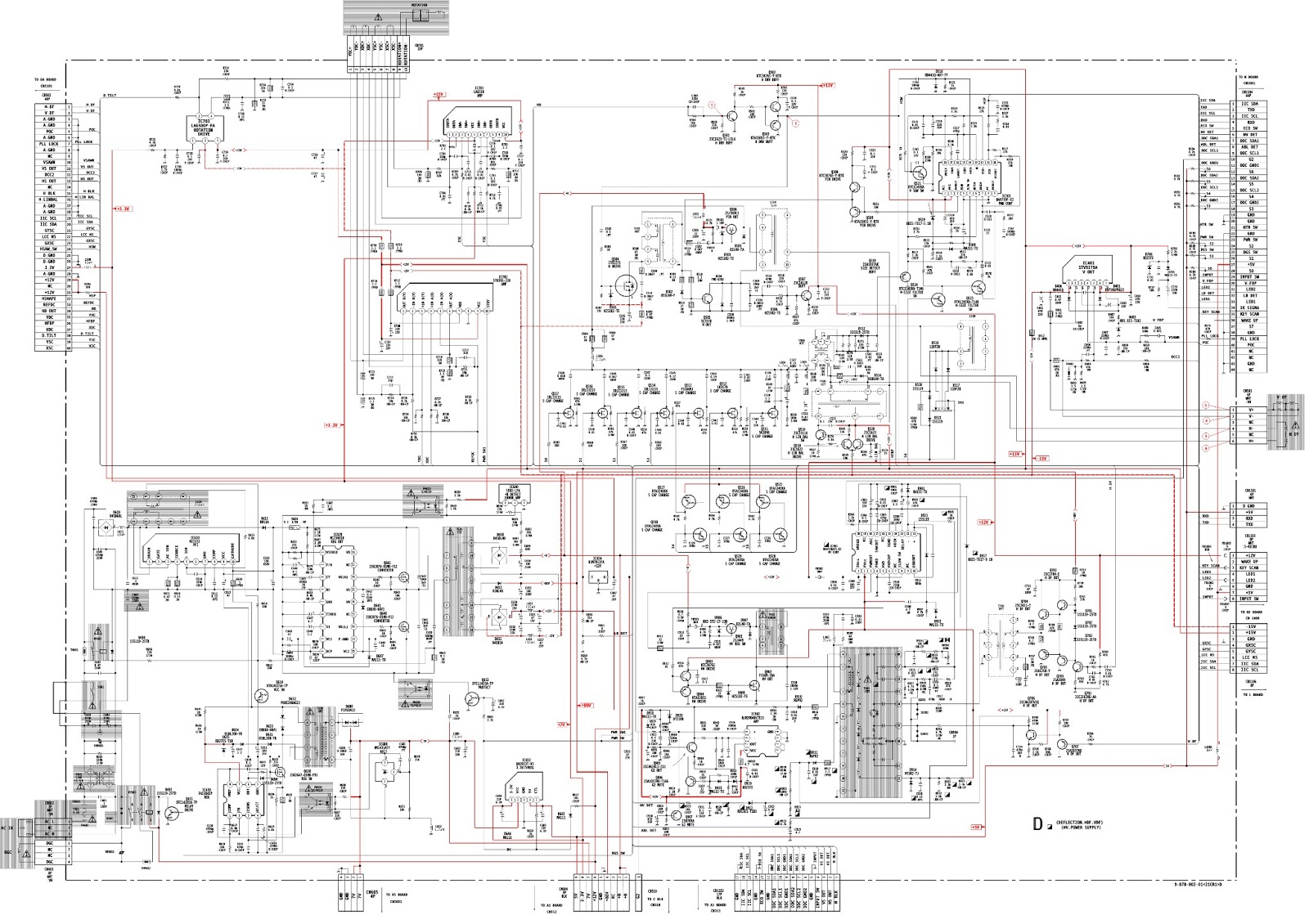 Playstation 4 motherboard schematic