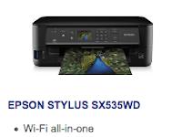 Epson Stylus SX535WD Driver Download