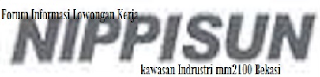 <img alt='Lowongan Kerja PT. Nippisun Indonesia' src='silokerindo.png'/>
