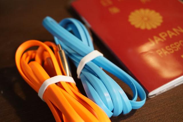 【CHOETECH USB Type-Cケーブル】カラフルなデザインで、コンパクト!CHOETECHのUSB Type-Cケーブルのセットがお得で良い!