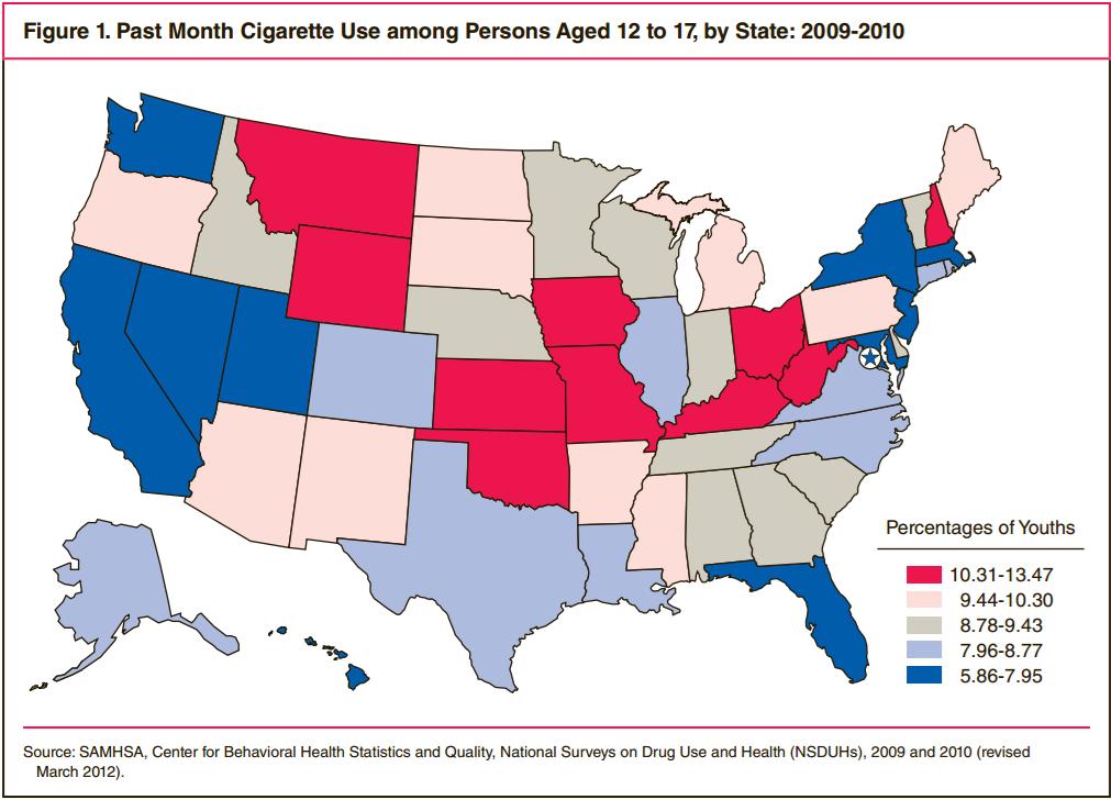 Kentucky Health News: Teen smoking in Kentucky declined more