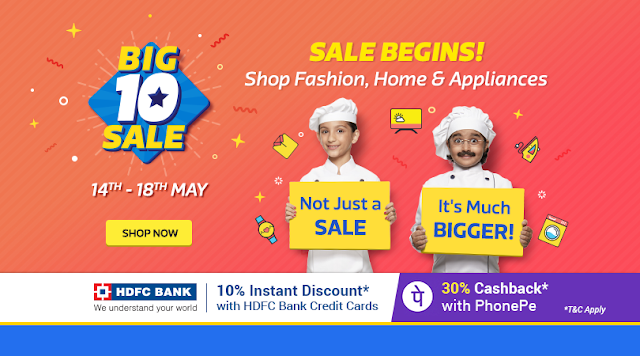 Big10 Sale [Day2]: 10% Off on HDFC Credit Cards | Never Before deals on iPhones! Upto 20k Off on Laptops exchange & many more!